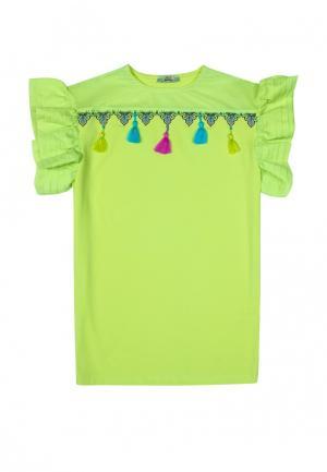 Платье Bell Bimbo. Цвет: зеленый