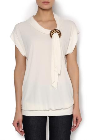 Блуза Clips. Цвет: белый