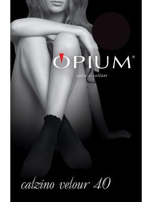 Носки OPIUM. Цвет: черный