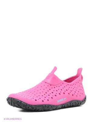Аквасоки Speedo. Цвет: розовый