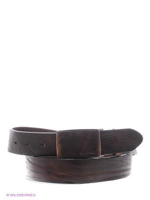 Ремень Tommy Hilfiger. Цвет: коричневый