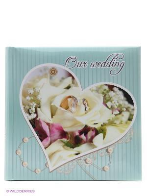 Фотоальбом Comby wedding rings VELD-CO. Цвет: голубой