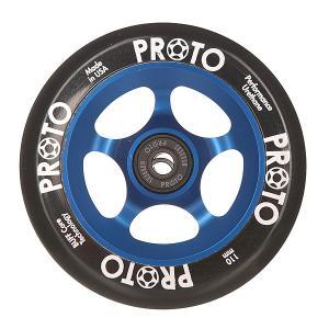 Колесо для самоката  110 Мм Slider Black On Blue Proto. Цвет: синий,черный