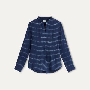 Блузка с рисунком HARTFORD. Цвет: синий