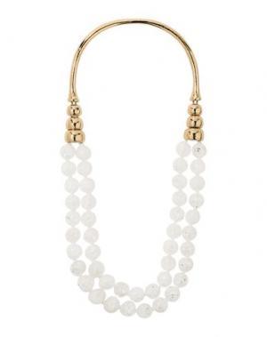 Ожерелье AURÉLIE BIDERMANN. Цвет: белый