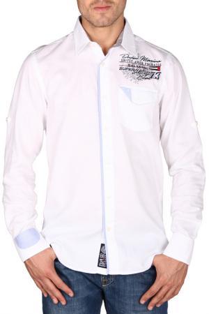 Рубашка Galvanni. Цвет: white