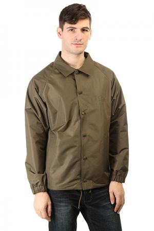 Куртка  Coachjacket Laser Haki Anteater. Цвет: зеленый