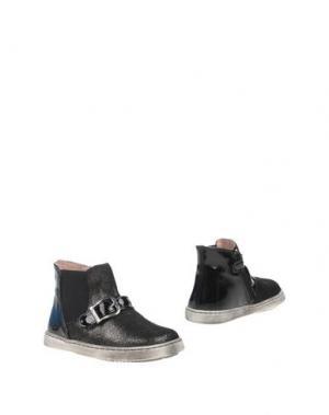 Полусапоги и высокие ботинки GARVALIN. Цвет: черный