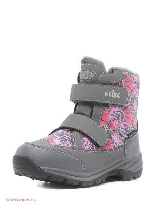 Ботинки REIKE. Цвет: серый
