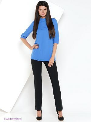 Блузка RUXARA. Цвет: синий