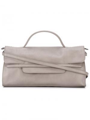 Средняя сумка-тоут Nina Zanellato. Цвет: телесный