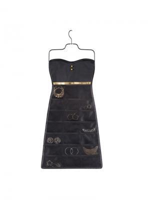 Органайзер для украшений Bow Umbra. Цвет: черный