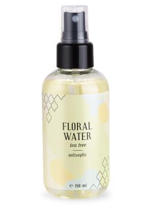 Флоральная вода Чайное дерево антисептик кожи 150 мл Huilargan. Цвет: желтый