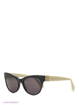 Солнцезащитные очки VW 868S 01 Vivienne Westwood. Цвет: черный