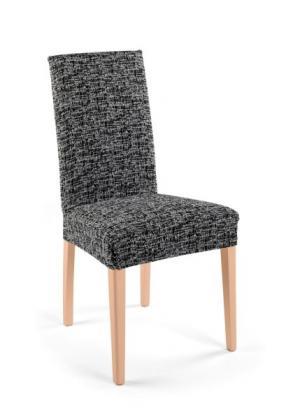 Чехол для стула Мальта (черный/белый) bonprix. Цвет: черный/белый