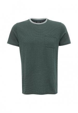 Футболка Burton Menswear London. Цвет: зеленый
