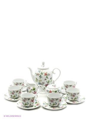 Сервиз чайный Bekker. Цвет: белый