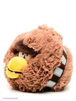 Мягкая игрушка 20см,  Angry Birds Star Wars. Цвет: бежевый, желтый