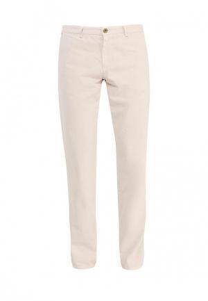 Чиносы Trussardi Jeans. Цвет: бежевый