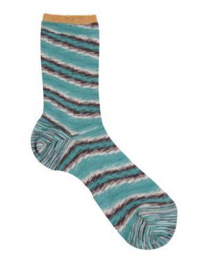 Короткие носки CHIC APPEAL by DèPio. Цвет: светло-зеленый