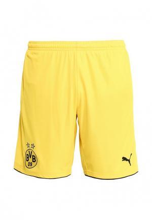 Шорты спортивные Puma. Цвет: желтый