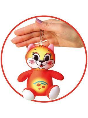 Антистрессовая игрушка-брелок Штучки, к которым тянутся ручки. Цвет: оранжевый