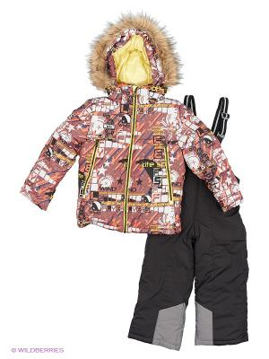 Комплект batik. Цвет: оранжевый, черный