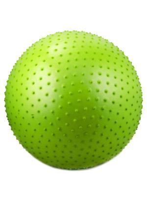 Мяч гимнастический массажный STAR FIT GB-301 55 см, зеленый (антивзрыв) starfit. Цвет: зеленый