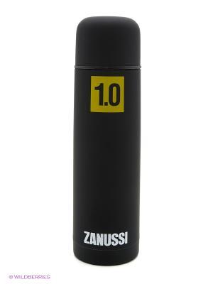 Термос черный 1,0 л Zanussi. Цвет: черный
