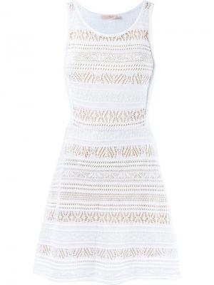 Тканое платье Cecilia Prado. Цвет: белый