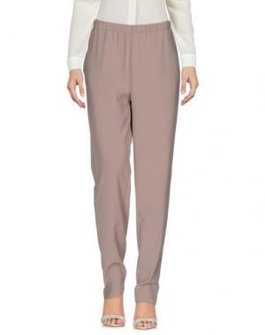 Повседневные брюки TAVIANI. Цвет: голубиный серый