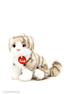 Котёнок Брэд TRUDI. Цвет: серый, белый
