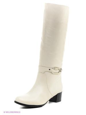 Сапоги Moda Donna. Цвет: белый