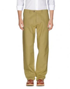 Повседневные брюки YMC YOU MUST CREATE. Цвет: охра