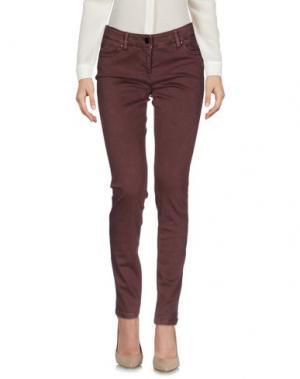 Повседневные брюки ARGONNE. Цвет: какао
