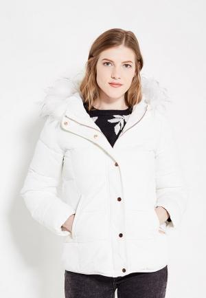 Куртка утепленная QED London. Цвет: белый