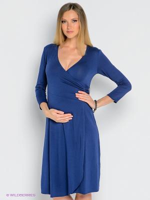 Платье Isabella Oliver. Цвет: темно-синий