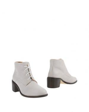 Полусапоги и высокие ботинки L'F SHOES. Цвет: светло-серый