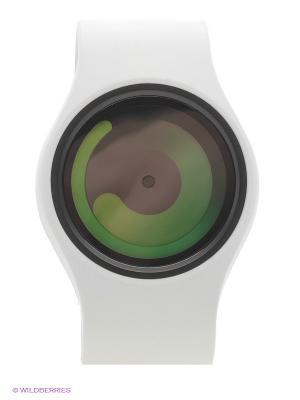 Наручные часы Gravity Snow - Green Ziiiro. Цвет: белый, зеленый
