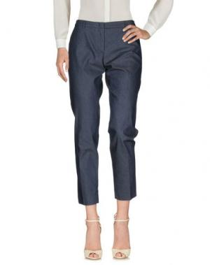 Повседневные брюки SEVENTY SERGIO TEGON. Цвет: грифельно-синий