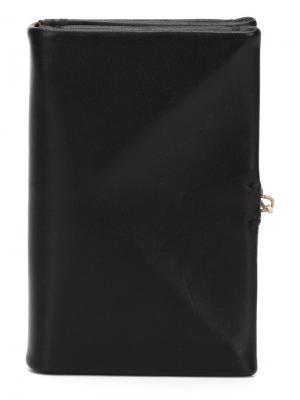 Однотонный кошелек для карт Ma+. Цвет: чёрный