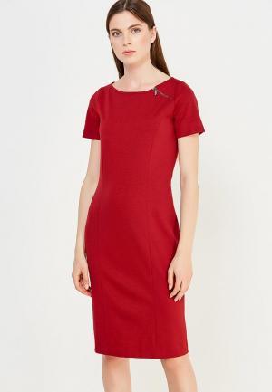 Платье Pennyblack. Цвет: бордовый