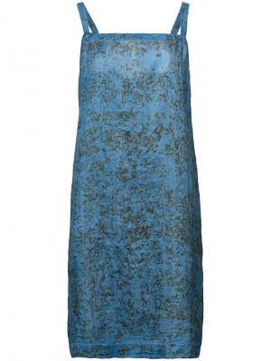 Платье Tank Dosa. Цвет: синий
