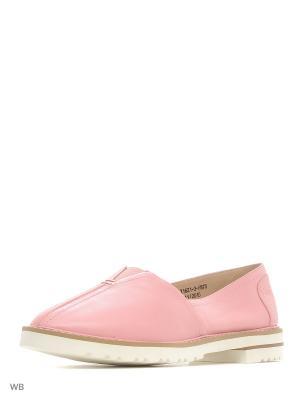 Слиперы El Tempo. Цвет: розовый