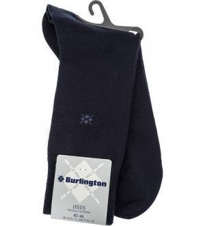 Синие шерстяные носки Burlington. Цвет: синий