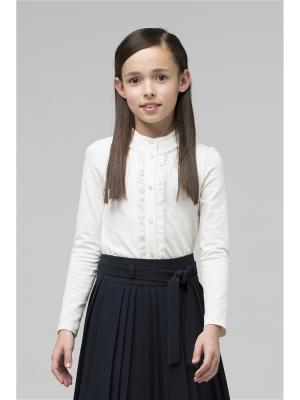 Блузка SILVER SPOON. Цвет: молочный