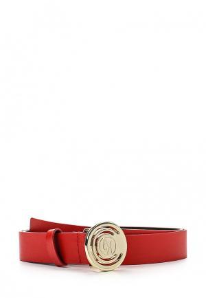 Ремень Armani Jeans. Цвет: красный
