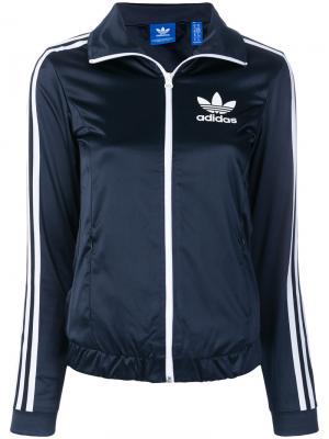 Спортивная куртка Europa Adidas. Цвет: синий