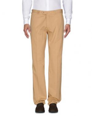 Повседневные брюки MILA SCHÖN. Цвет: песочный