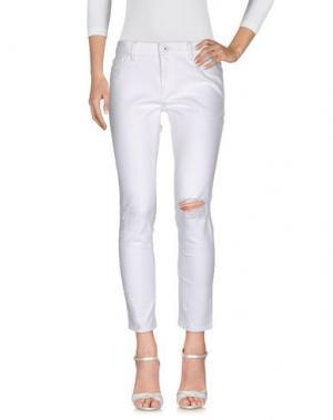Джинсовые брюки DL1961. Цвет: белый